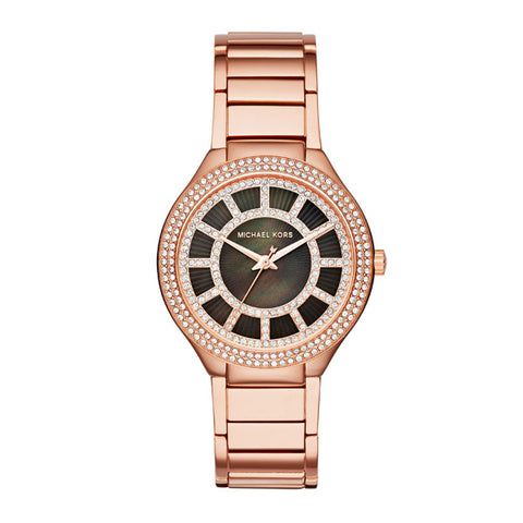 Michael Kors Kerry Rose Gold-Tone Watch MK3397