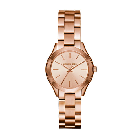 Michael Kors Ladies Runway Mini Slim Watch MK3513