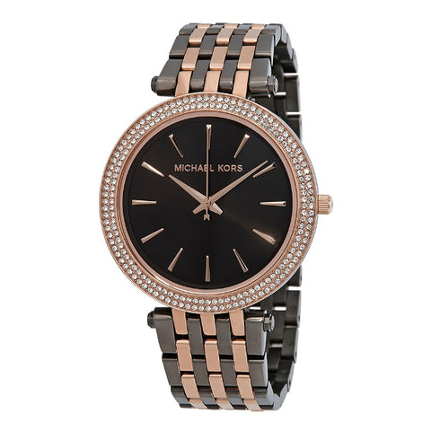 MICHAEL KORS Darci Two-Tone Three-Hand Watch MK3584