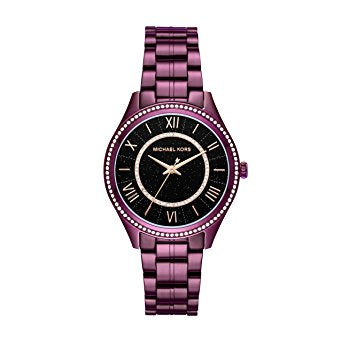 Michael Kors WoMen's Lauryn Plum Watch MK3724