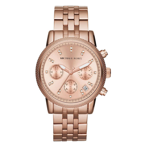 Ladies Michael Kors Ritz Chronograph Watch MK6077