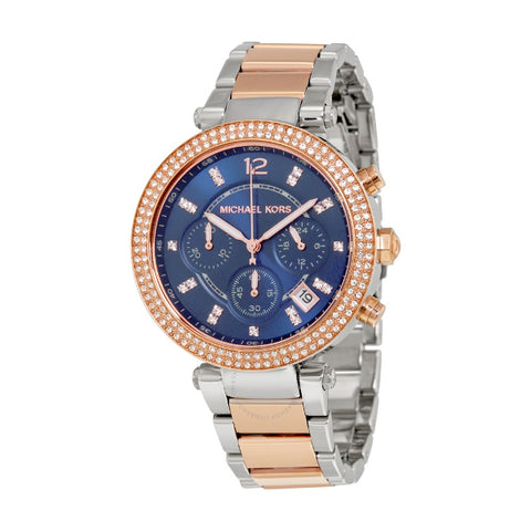 MICHAEL KORS Parker Rose gold-Tone Watch MK6141