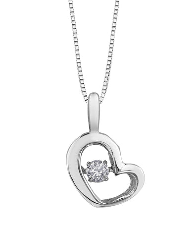 PULSE DIAMOND PENDANT-3113WG
