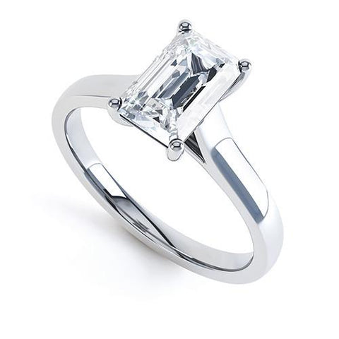 Grace - R1149 - G Finger Size, 18ct-white-gold Metal, 0.7 Ct Diamond (undefined)