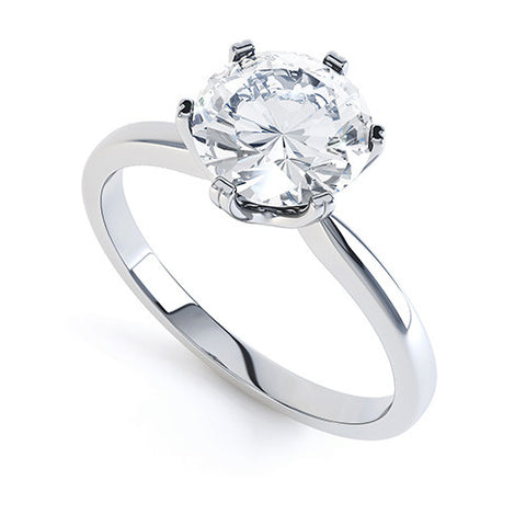 BRONTE - R12001-Diamond Engagement Ring-Design Centre Jewellery