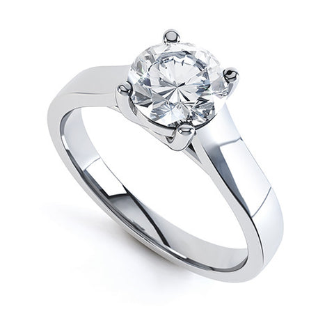 JADE - R1135-Diamond Engagement Ring-Design Centre Jewellery