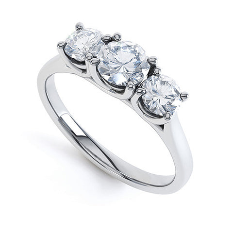 SIENNA - R3145-Diamond Engagement Ring-Design Centre Jewellery