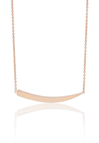 PILA GRANDE PLAIN NECKLACE BY SIF JAKOBS