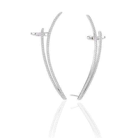 FUCINO DUE LARGE EAR CUFF BY SIF JAKOBS-Design Centre Jewellery