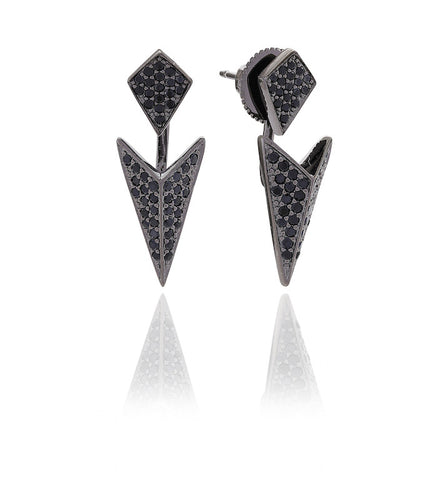 PECETTO EAR JACKETS BY SIF JAKOBS-Design Centre Jewellery