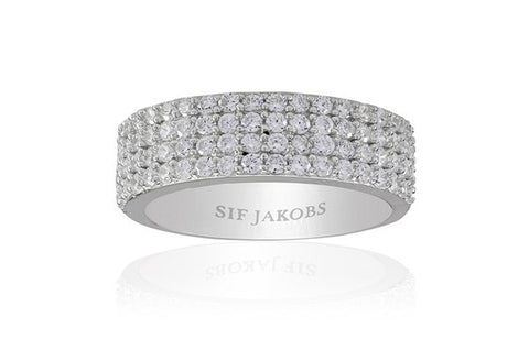 CORTE QUATTRO RINGS BY SIF JAKOBS-Design Centre Jewellery