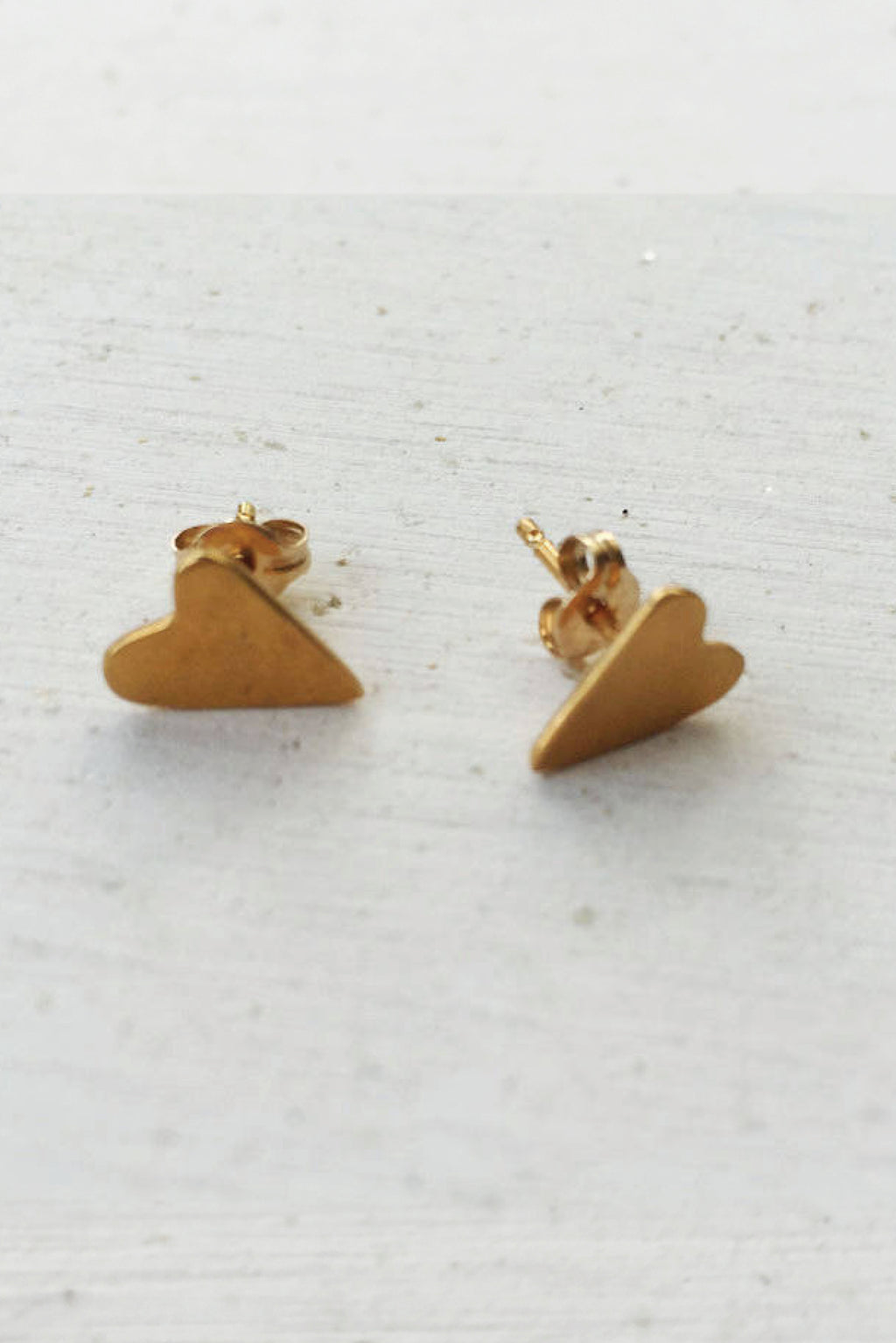 Earrings Love is... // Gold Plated