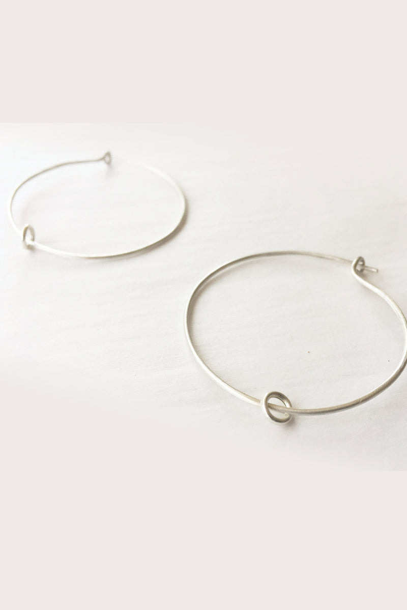 Earrings Hoopla  // Sterling Silver