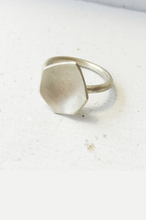 Ring (Broken) Mirror Kingdom // Sterling Silver