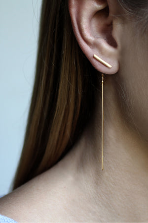 Earrings Lust // Gold Plated