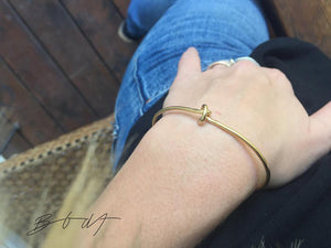 Bracelet Knot // Gold Plated