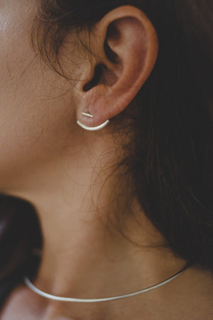 Sail Earrings // Sterling Silver