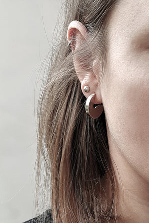 Earrings Hoop // Sterling Silver