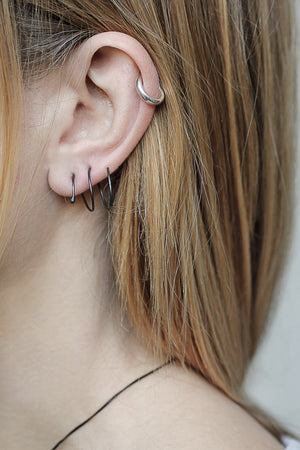 Earrings Spire // Sterling Silver