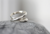 Double band Ring // Sterling silver