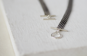 Choker necklace / Sterling silver