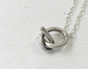 Pendant Knot // Sterling Silver