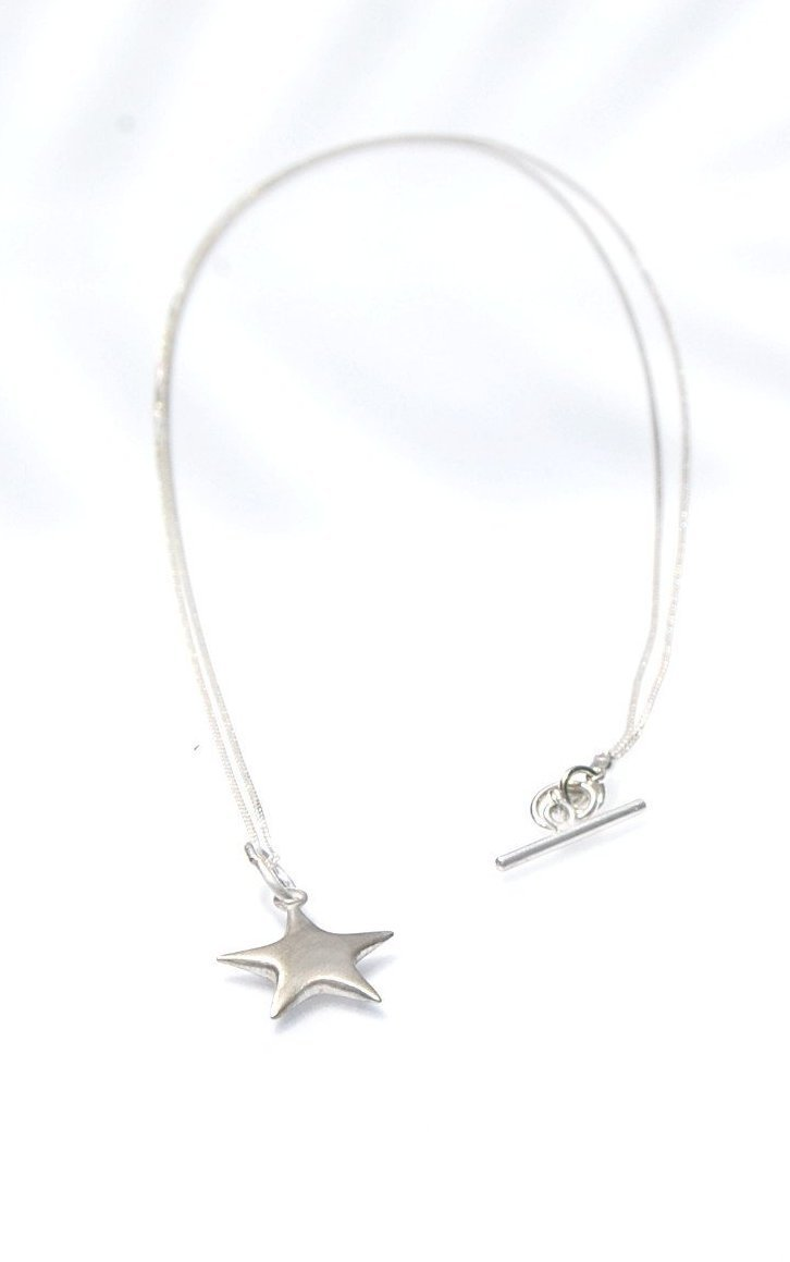 The Star Pendant // Sterling Silver