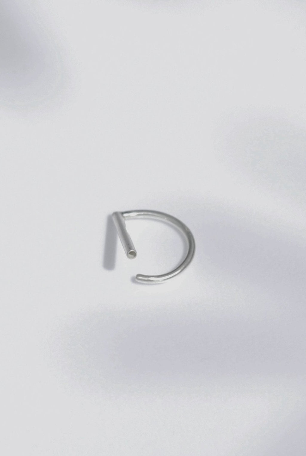 Open Line Ring // Sterling Silver