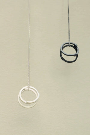 Rings necklases // Silver