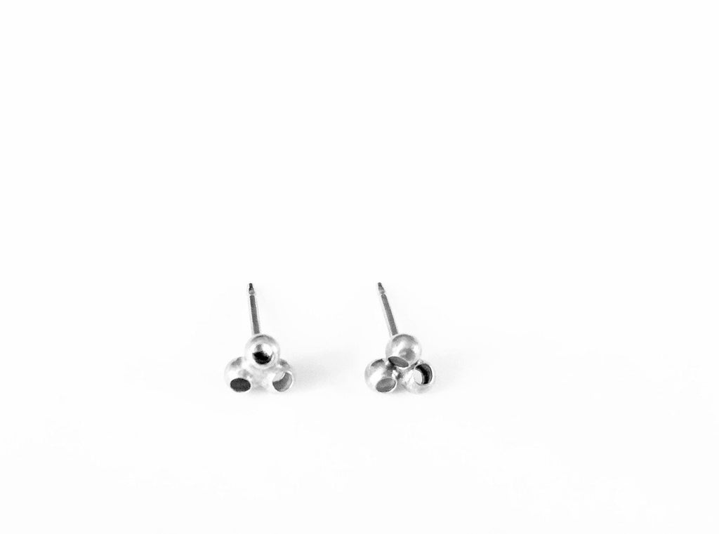 Earrings Lucky Clover // Sterling Silver