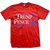 Trump/Pence Throwback Short Sleeve - Red