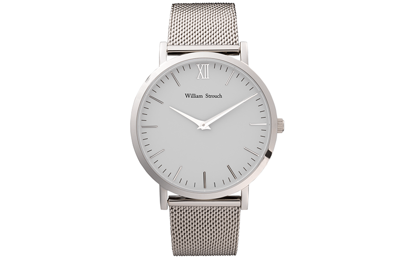 William Strouch Silver Watch