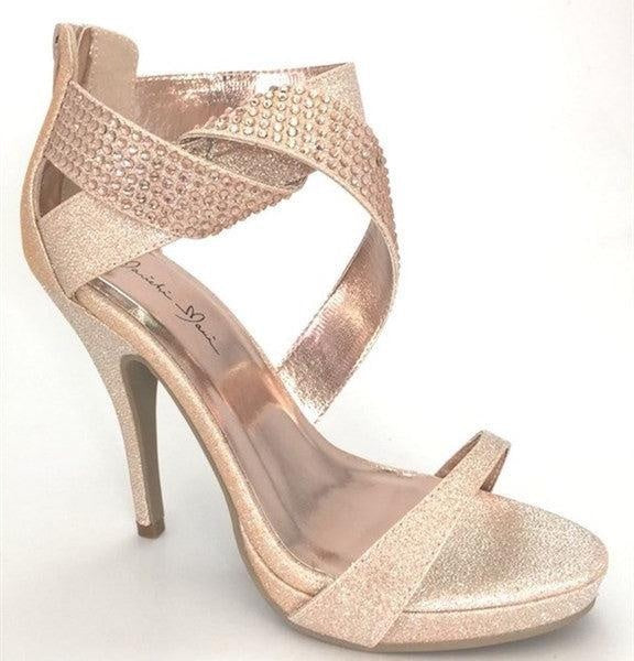 Rose Gold Heels - My Royal Closet