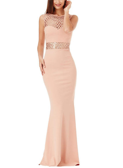 Gemma Rose Mauve Gown - My Royal Closet
