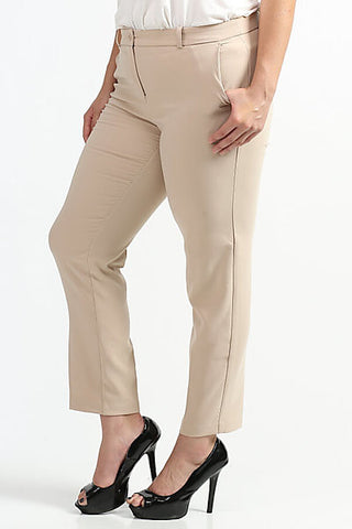Royal Curves Khaki Slacks