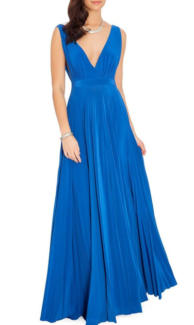 Alessandra Royal Blue Maxi Gown - My Royal Closet