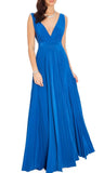 Royal Blue Maxi Gown - My Royal Closet