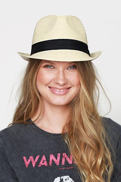 Natural Straw Panama Hat - My Royal Closet