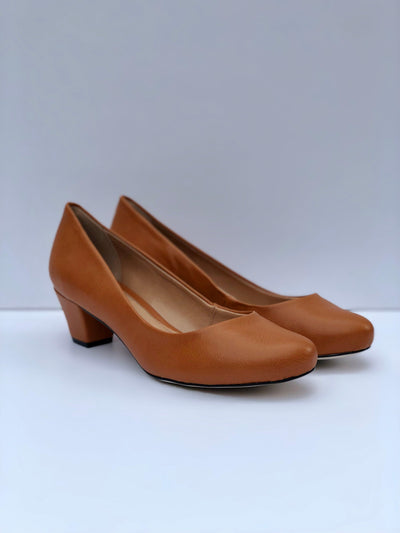 Tan Neuaura Pumps - My Royal Closet
