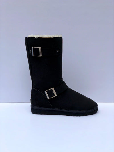 Reneu Robin Black Boots - My Royal Closet