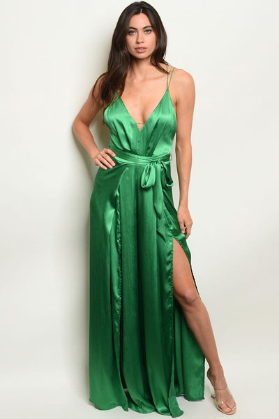 Brooke Emerald Jumpsuit - My Royal Closet