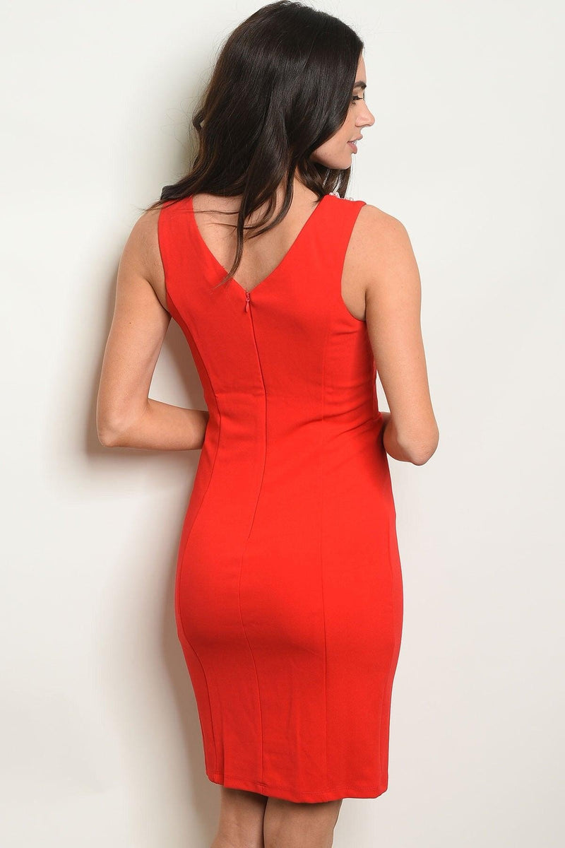 Reign Red Midi - My Royal Closet