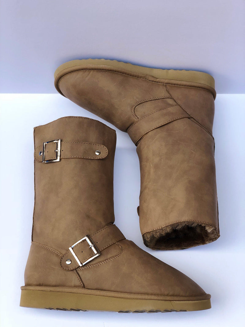 Reneu Robin II Dark Sand Boots - My Royal Closet