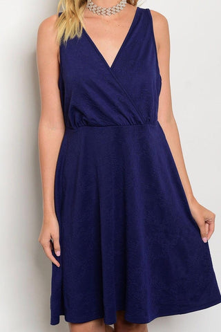 Royal Curves Midnight Blue Midi