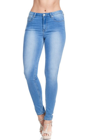 Light Blue High Rise Denim