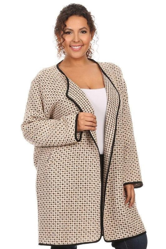 Royal Curves Cardigan Jacket - My Royal Closet