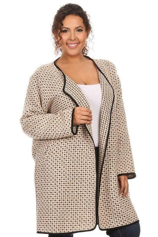 Royal Curves Cardigan Jacket
