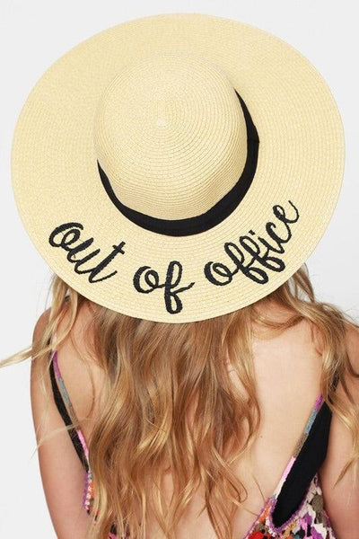 'Out Of Office' Beach Hat - My Royal Closet