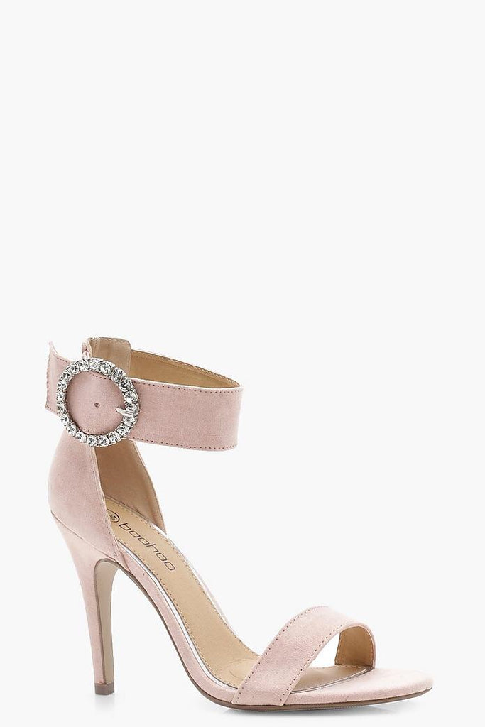 Nude Buckle Heels - My Royal Closet
