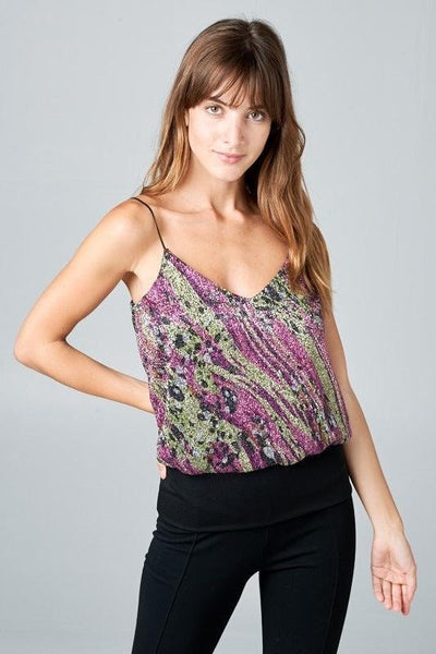 Iberis Multi Shimmer Top - My Royal Closet